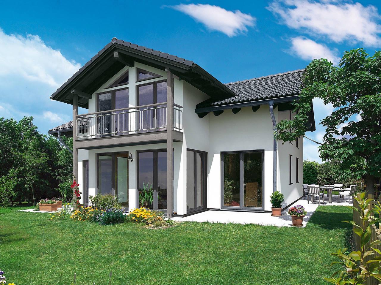 Fingerhut Haus Einfamilienhaus R102.10 Hauptansicht