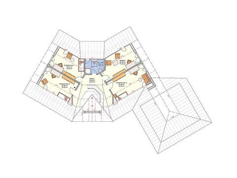Fingerhut Haus Zweifamilienhaus L 161.10 Grundriss DG