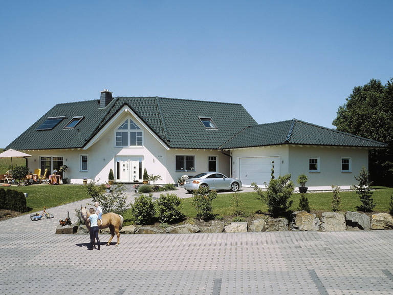 Fingerhut Haus Zweifamilienhaus Familio Hauptansicht