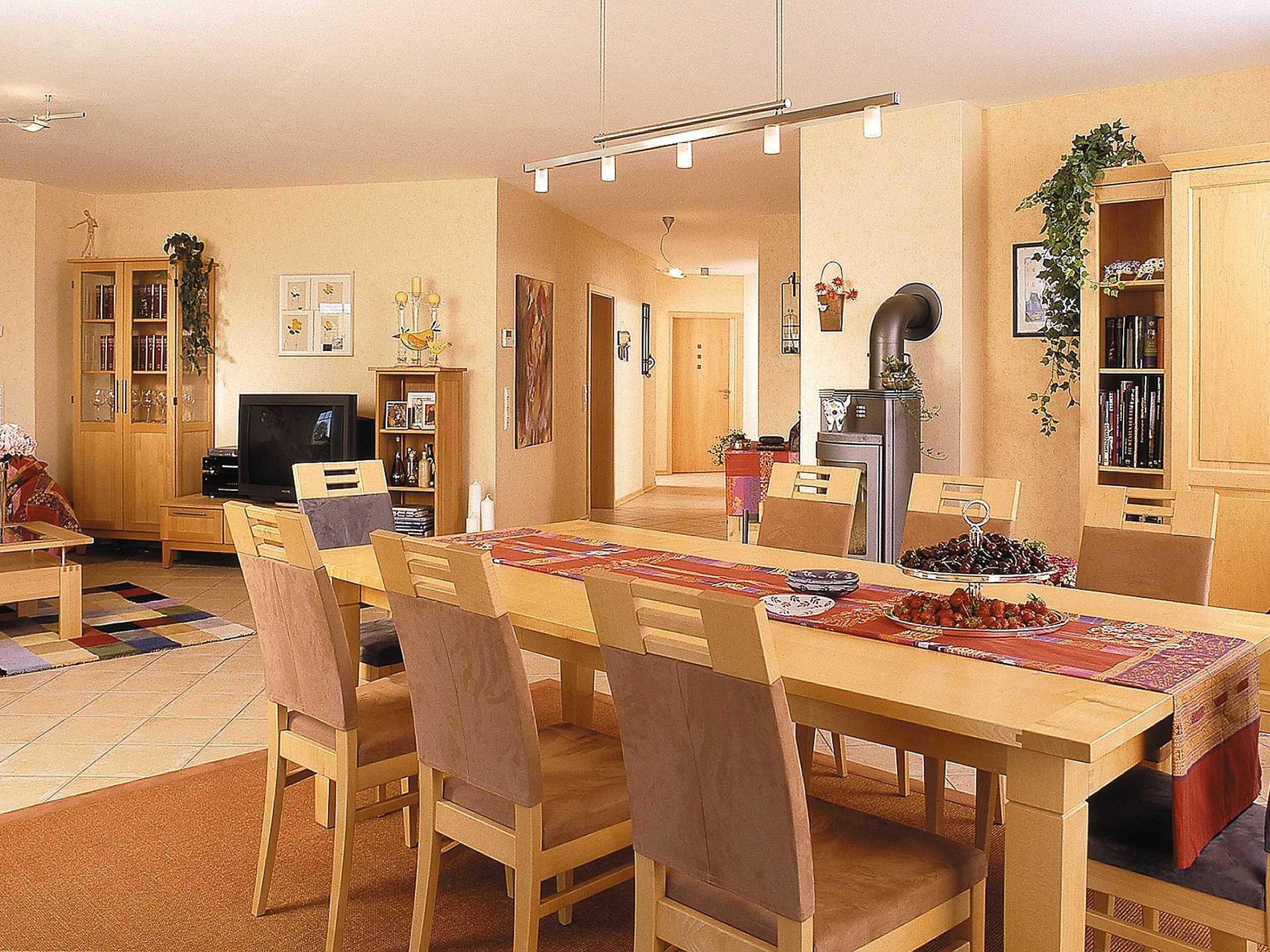 Innenansicht Essbereich - Zweifamilienhaus L161.10 - Fingerhut Haus