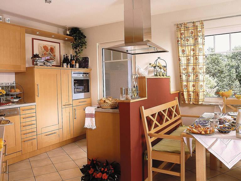 Innenansicht Küche - Zweifamilienhaus L161.10 - Fingerhut Haus