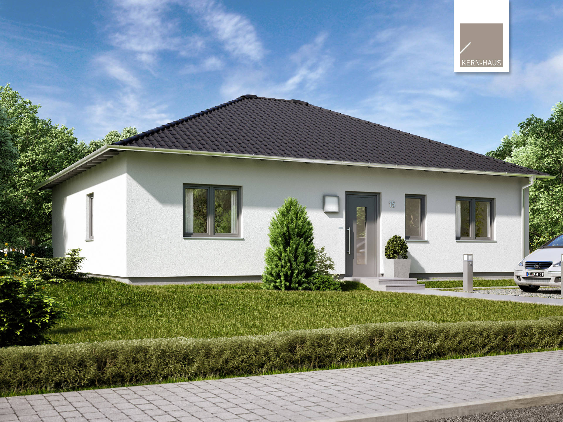 Bungalow Flair - Kern-Haus | Musterhaus.net