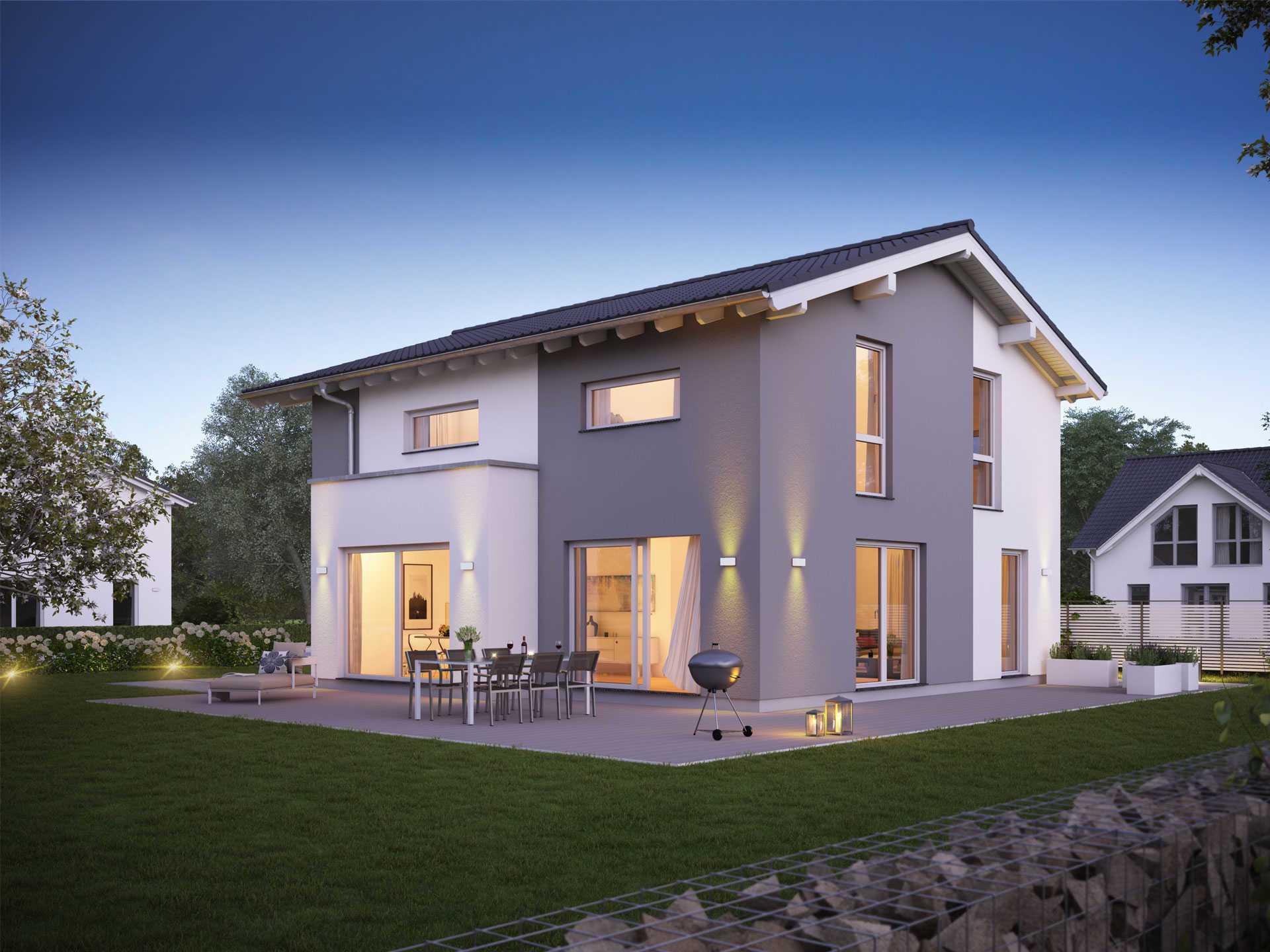 Familienhaus Vero - Kern-Haus | Musterhaus.net