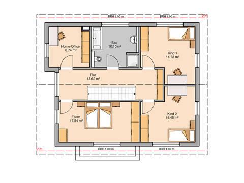 Familienhaus Vero von Kern-Haus Grundriss DG