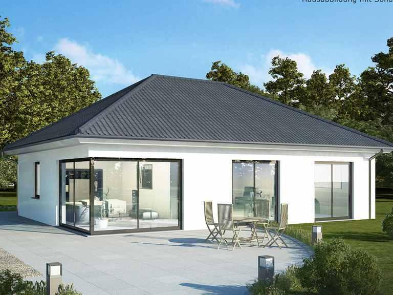Einfamilienhaus Bungalow 80 K - Baudirekt
