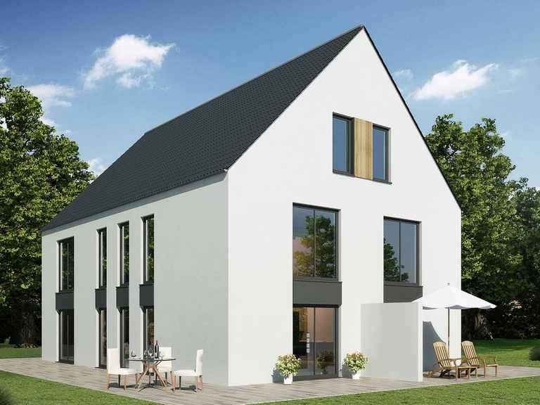 Doppelhaus 110 K - Baudirekt
