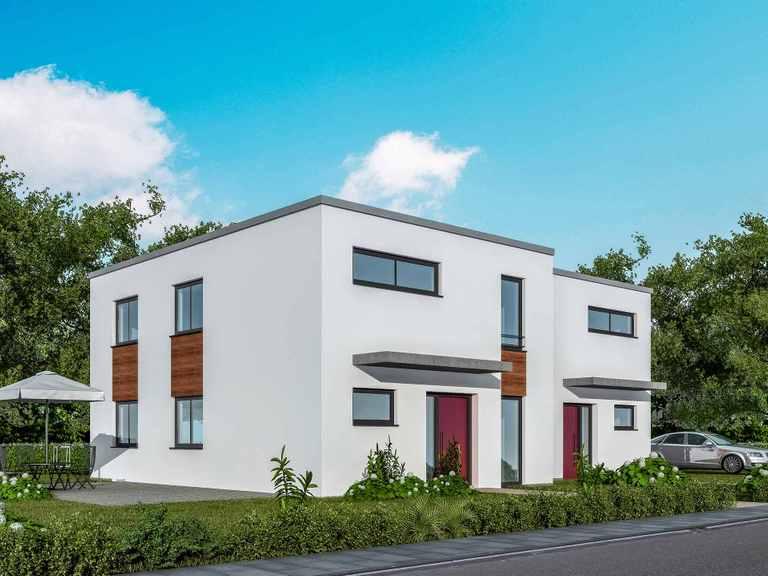 Doppelhaus 120 T - Baudirekt