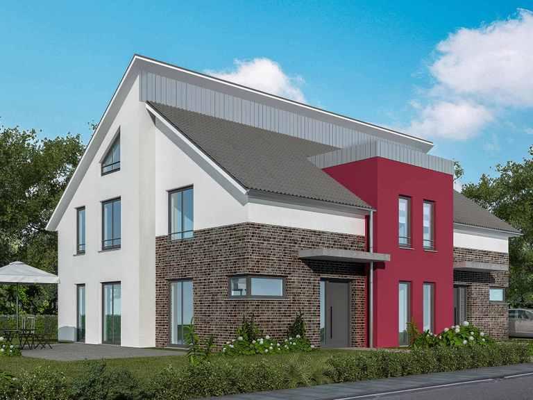 Doppelhaus 120 M - Baudirekt