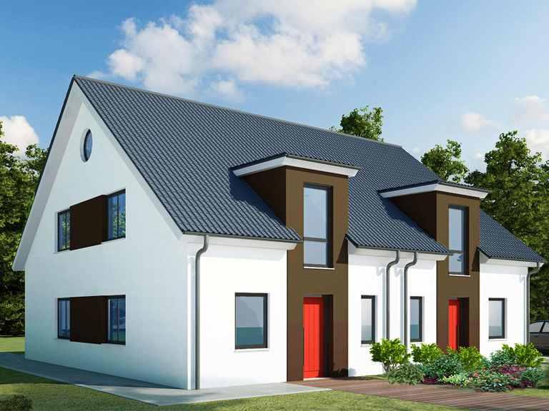 Doppelhaus 130 K - Baudirekt