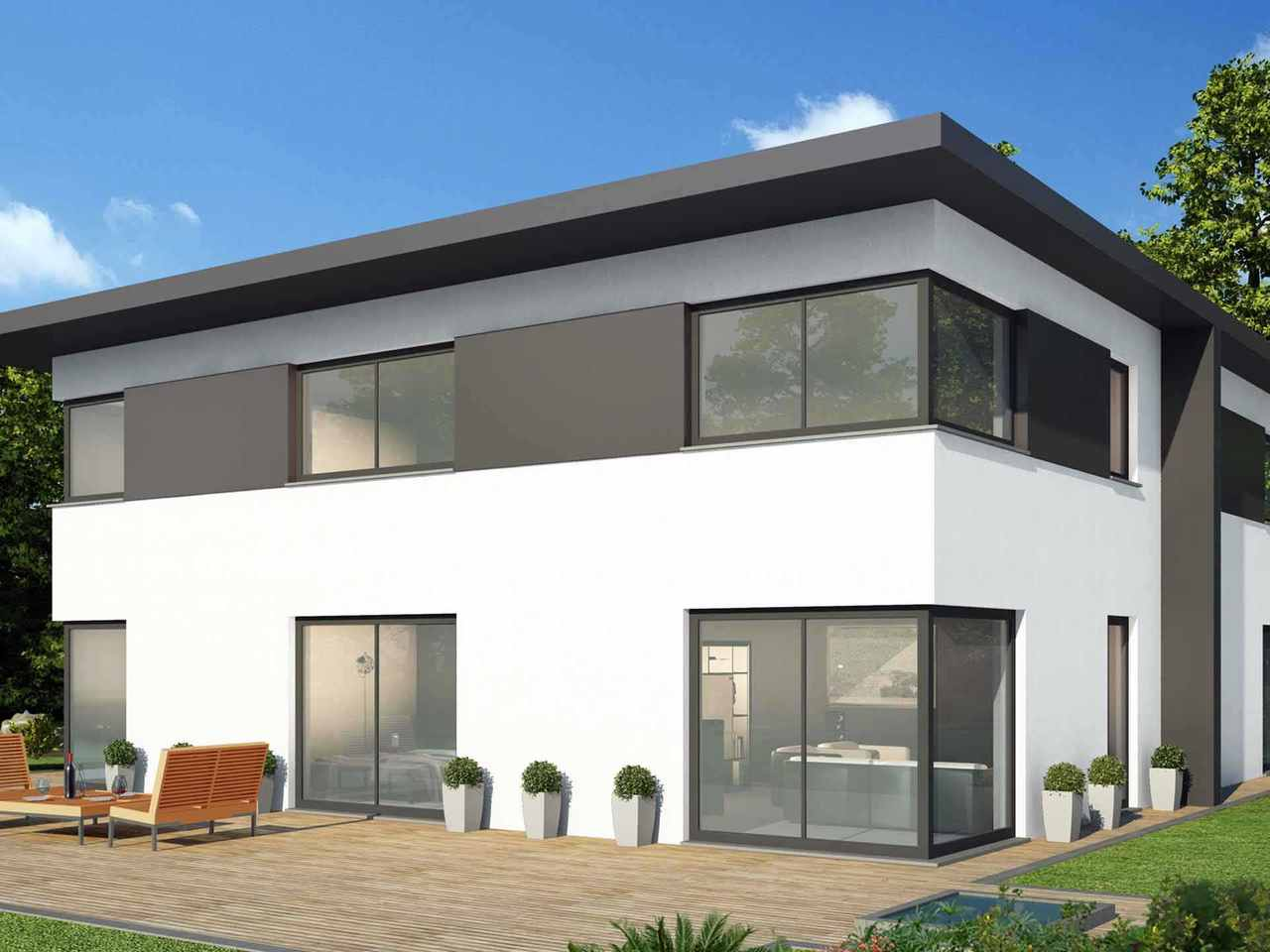 Doppelhaus 130 M - Baudirekt