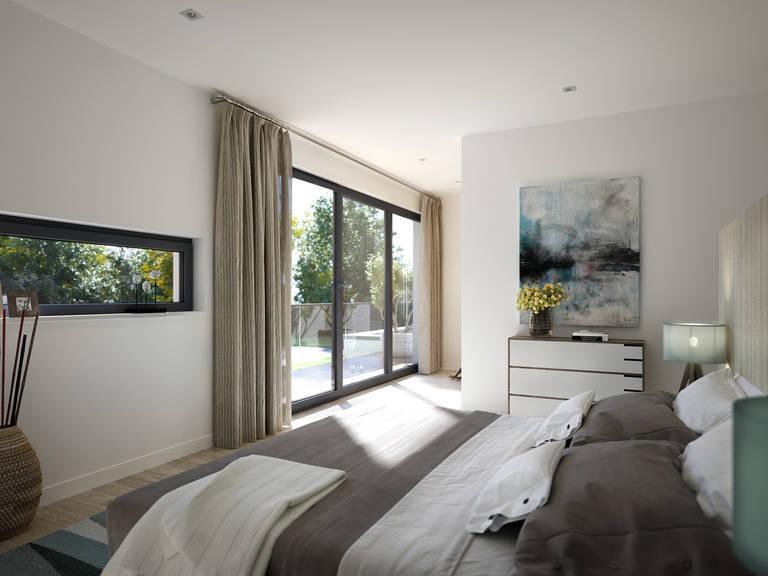 Innenansicht Schlafzimmer - Evolution Mannheim von Bien-Zenker