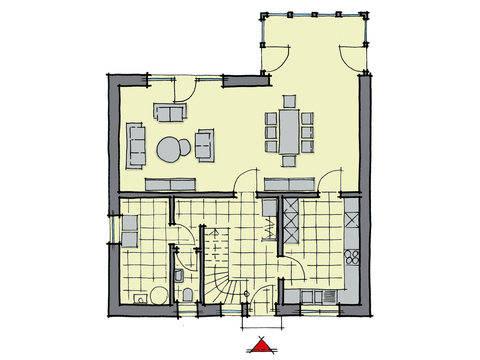 Buchenallee WL 40 Grundriss von GUSSEK HAUS