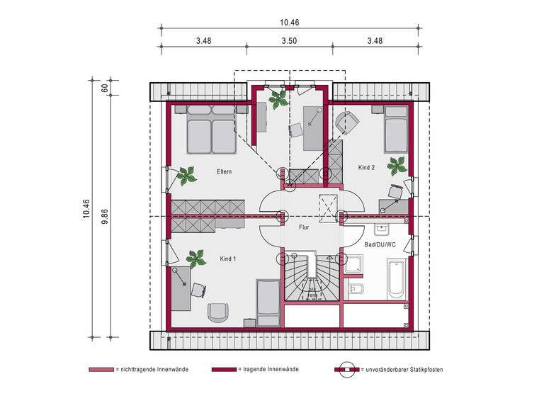 Einfamilienhaus Concept 11 Grundriss von Ein SteinHaus
