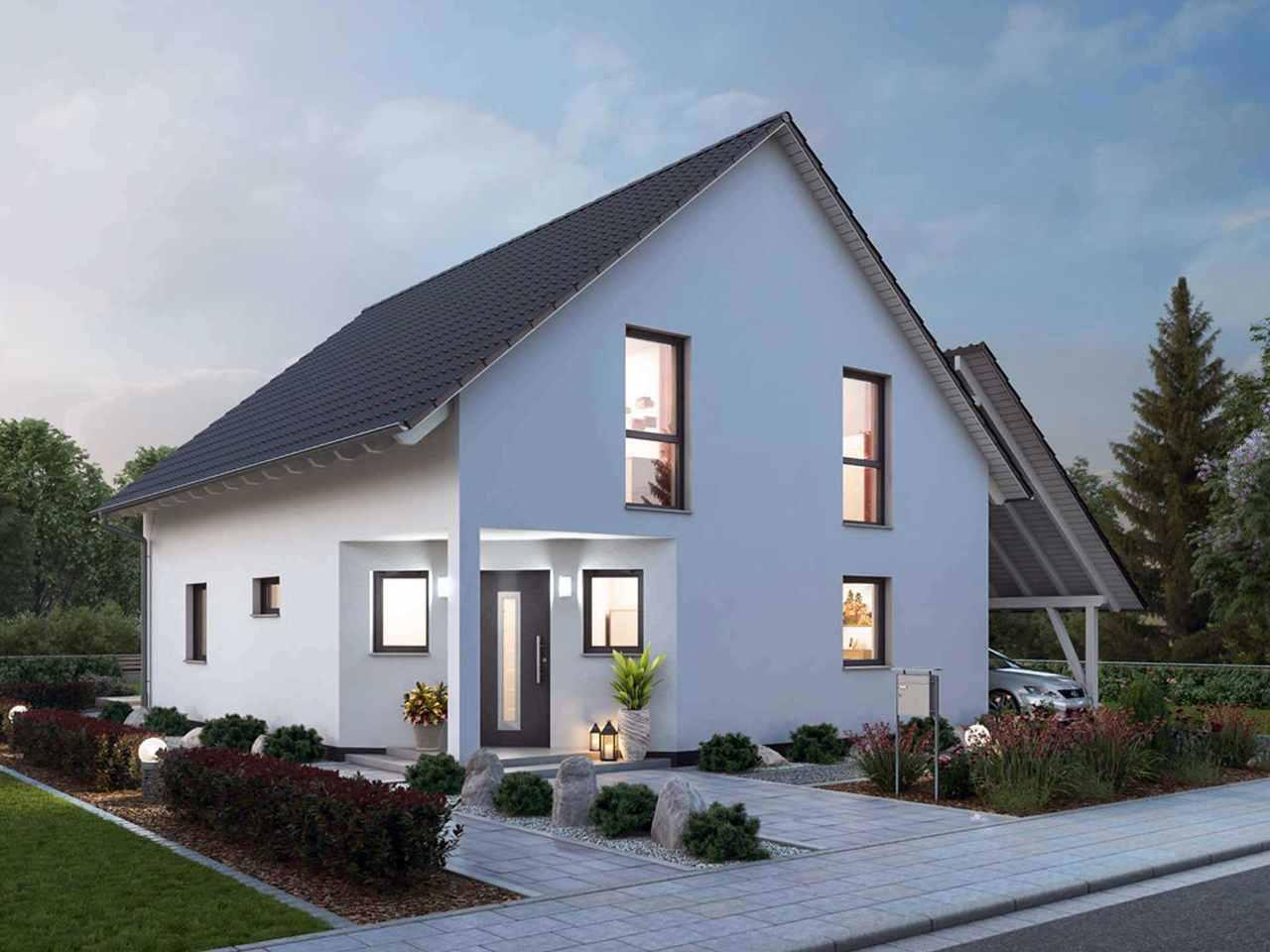 Einfamilienhaus 143 - Ytong Bausatzhaus