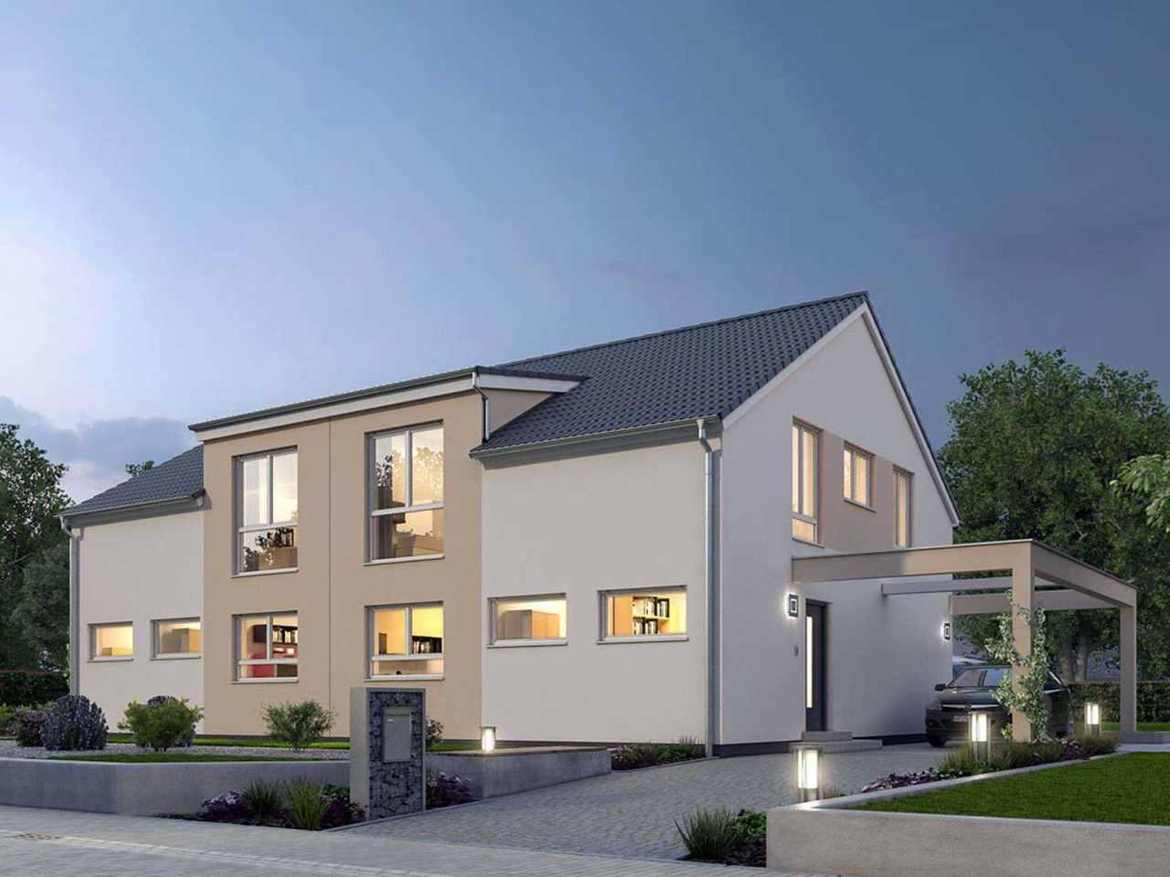 Doppelhaus 119 - Ytong Bausatzhaus