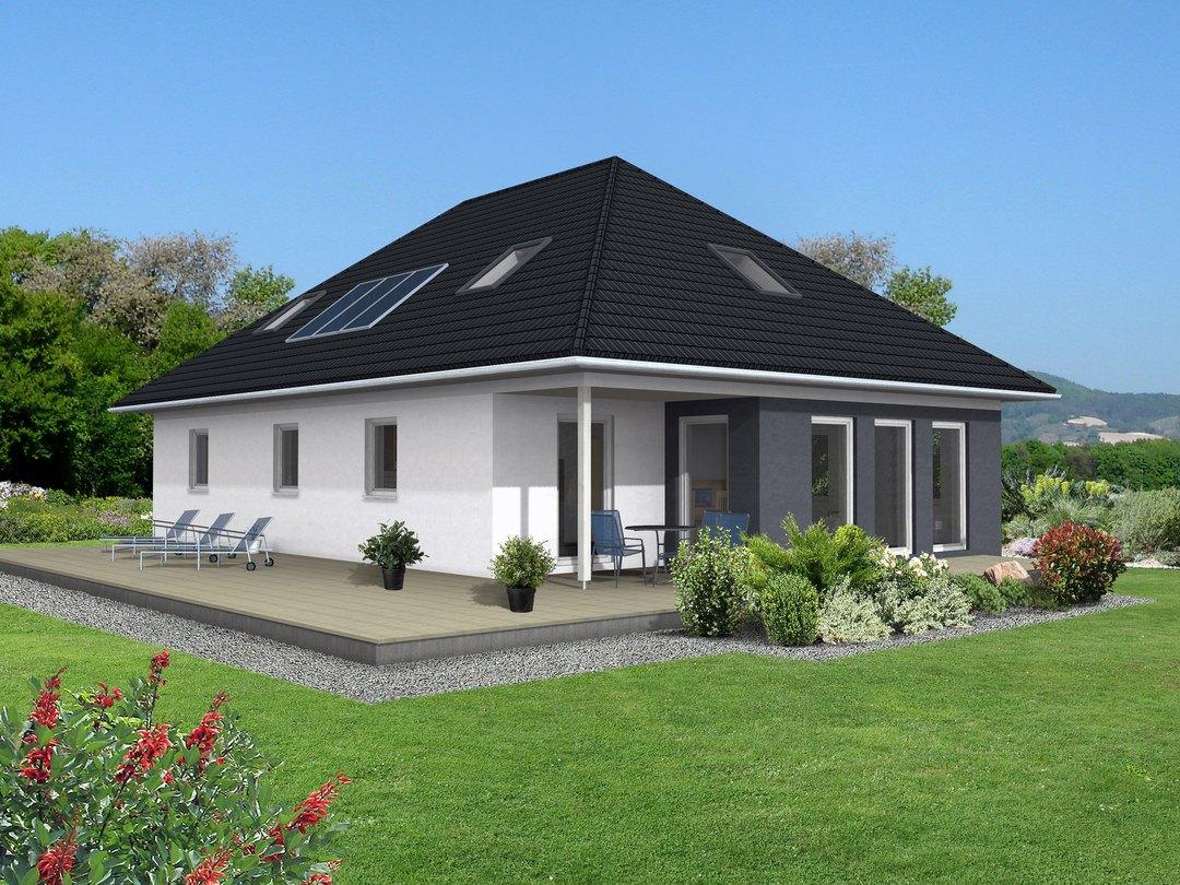 Bungalow ka 112 ytong bausatzhaus for Zweifamilienhaus bungalow