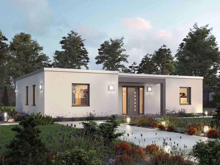 Bungalow BGL  121 - Ytong Bausatzhaus