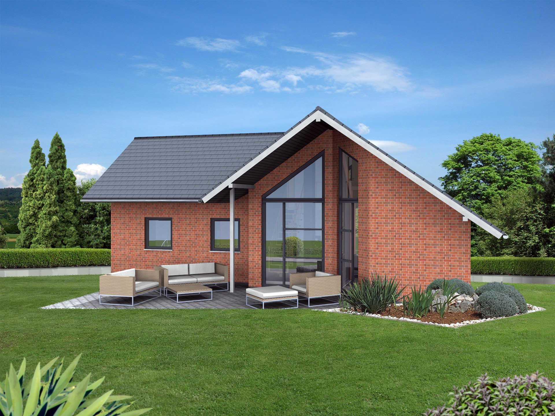 Bungalow wa 83 ytong bausatzhaus for Single haus bauen