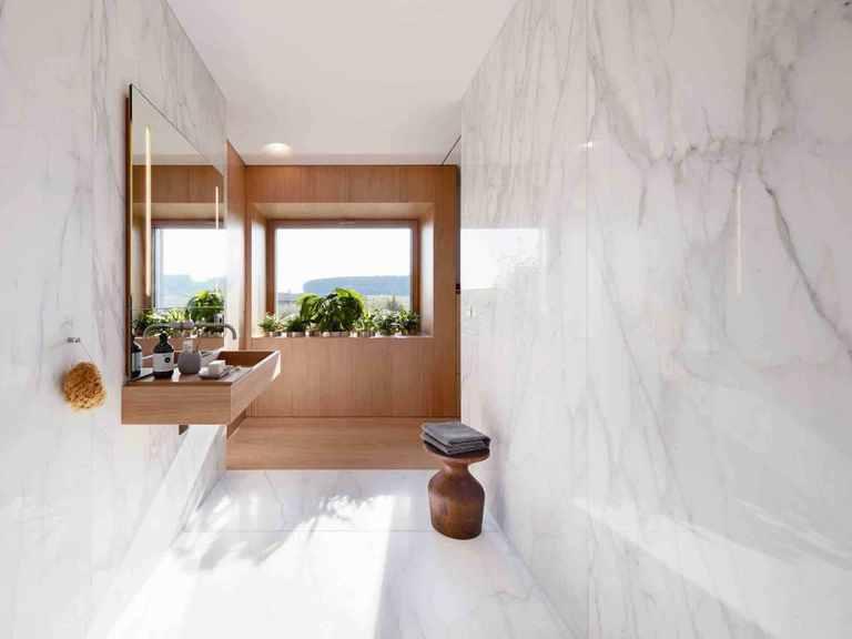 Konzepthaus Haussicht - Baufritz Badezimmer
