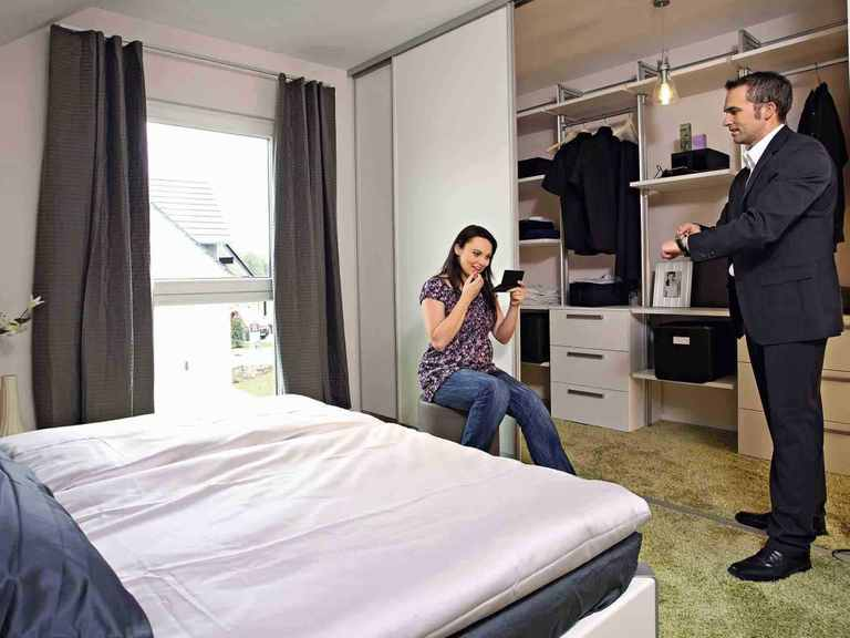 Ausstellungshaus Köln - WeberHaus Schlafzimmer