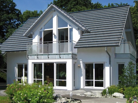 Musterhaus Bad Vilbel bei Frankfurt Hauptansicht