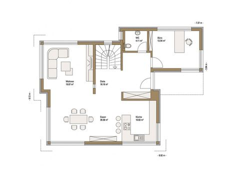 musterhaus emotion fellbach fertighaus weiss. Black Bedroom Furniture Sets. Home Design Ideas