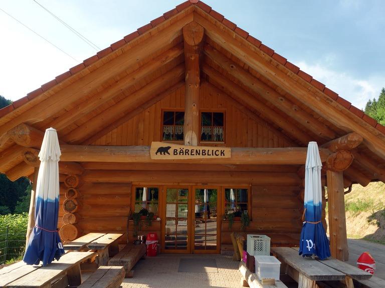 BHB BlockHausBau Martin Schwarz - Gasthaus im Bärenpark Vorderansicht