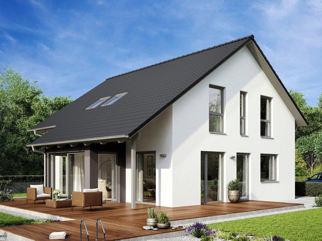 Hanse Haus Variant : satteldachhaus variant 35 174 hanse haus ~ Yuntae.com Dekorationen Ideen