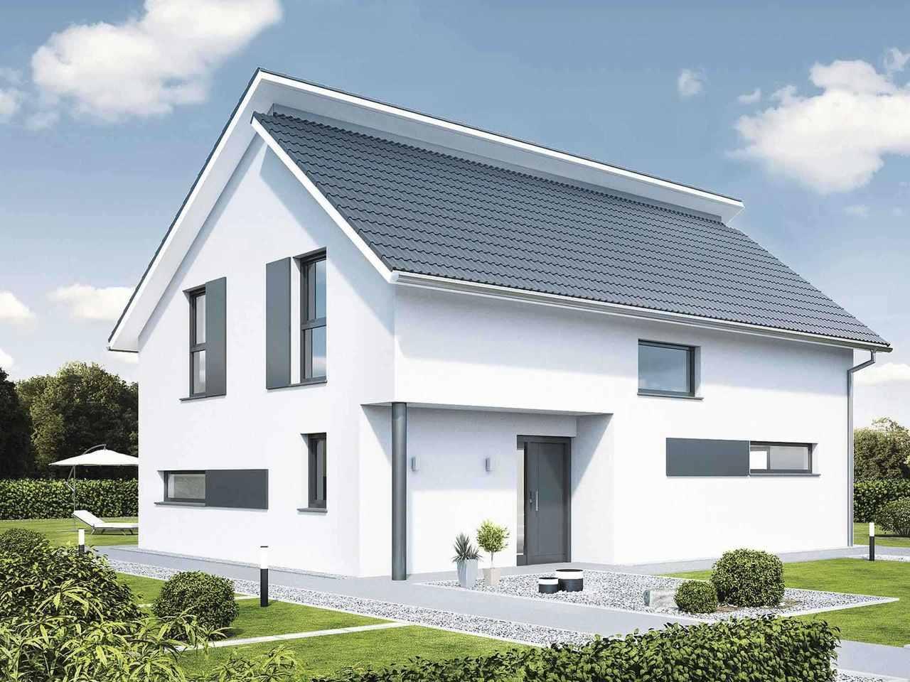 Pultdachhaus generation 5.5 - 300 - WeberHaus Variante 1