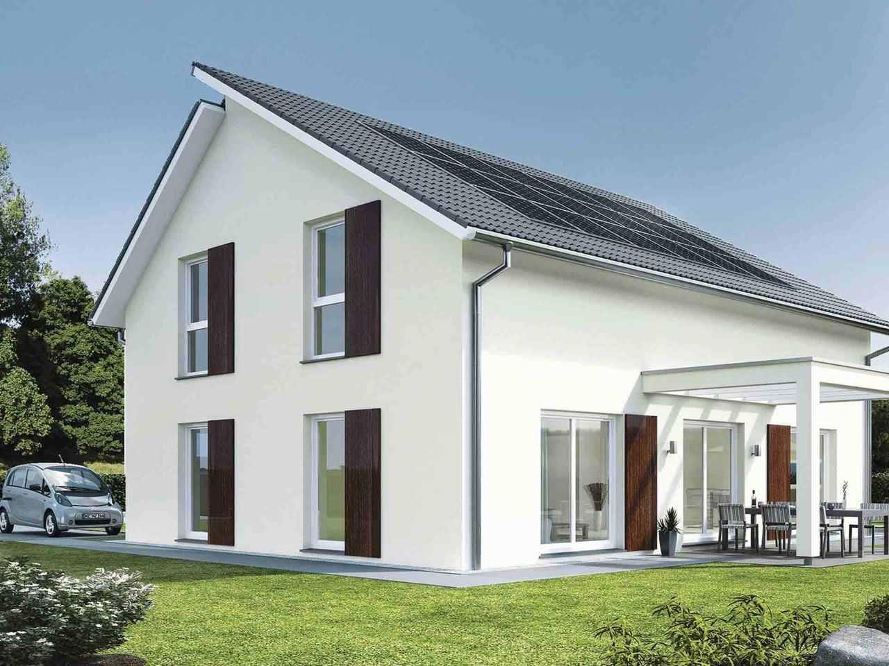 Pultdachhaus generation 5.5 - 300 - WeberHaus Variante 2