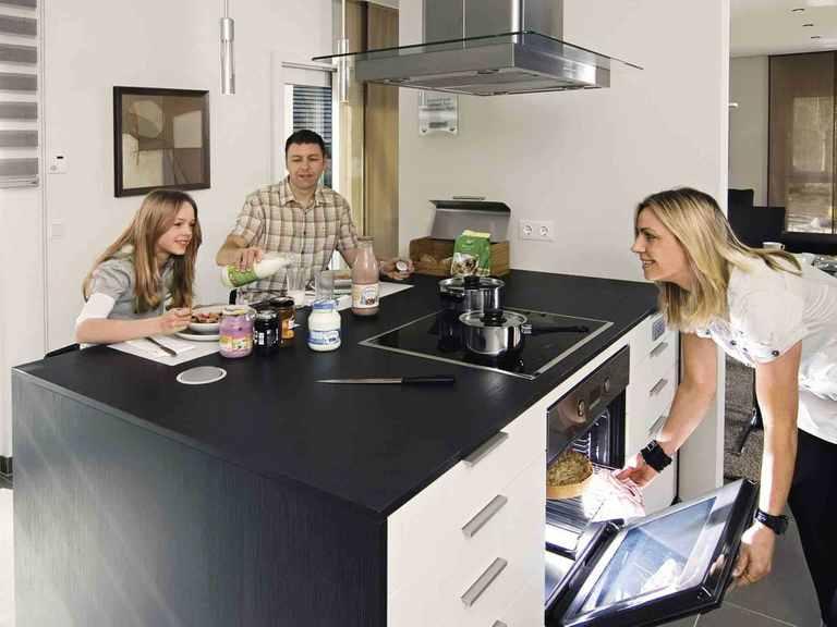 Haus 2-geschossig generation 5.5 - 300 - WeberHaus Offene Küche