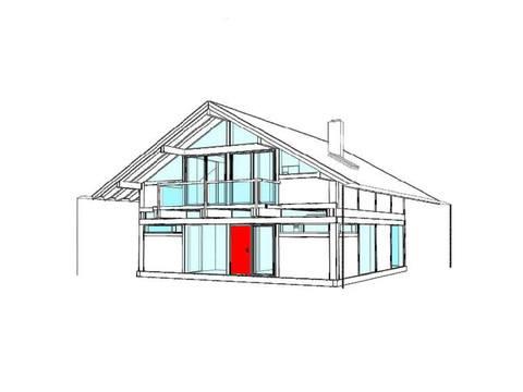 Modernes Fachwerkhaus Entwurf 1 - Concentus