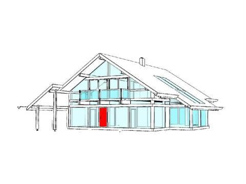 Modernes Fachwerkhaus Entwurf 5 Concentus