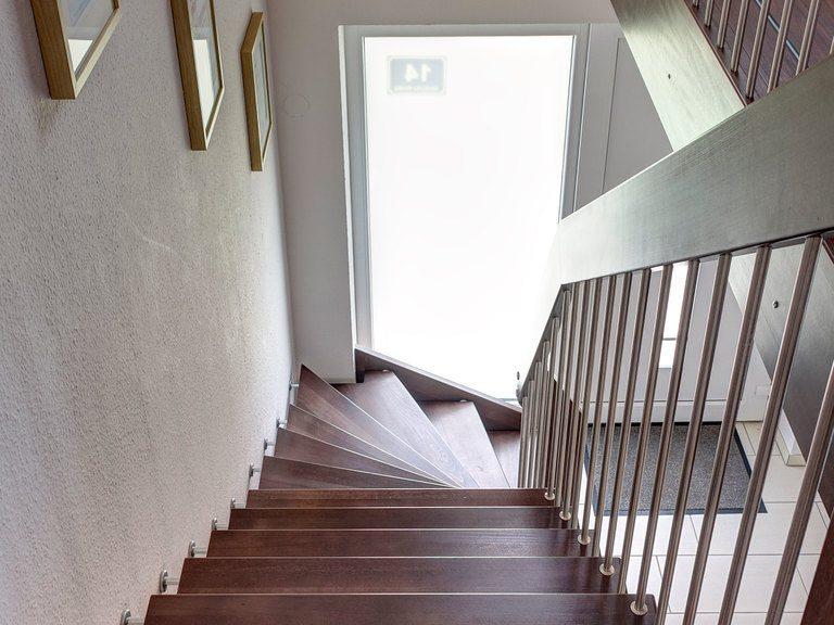 Musterhaus Ellerdorf - VODIES Massivhaus - Treppe