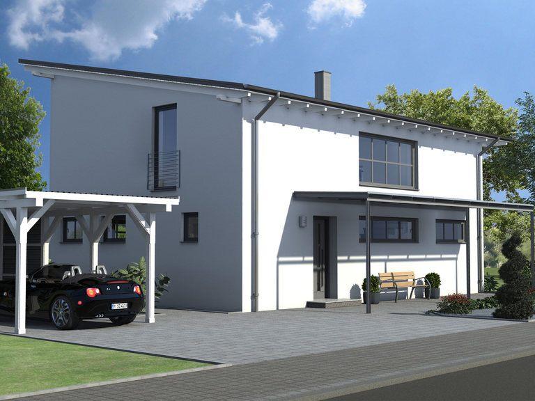 Einfamilienhaus Kristall Ansicht 1 Ästhetik-Haus