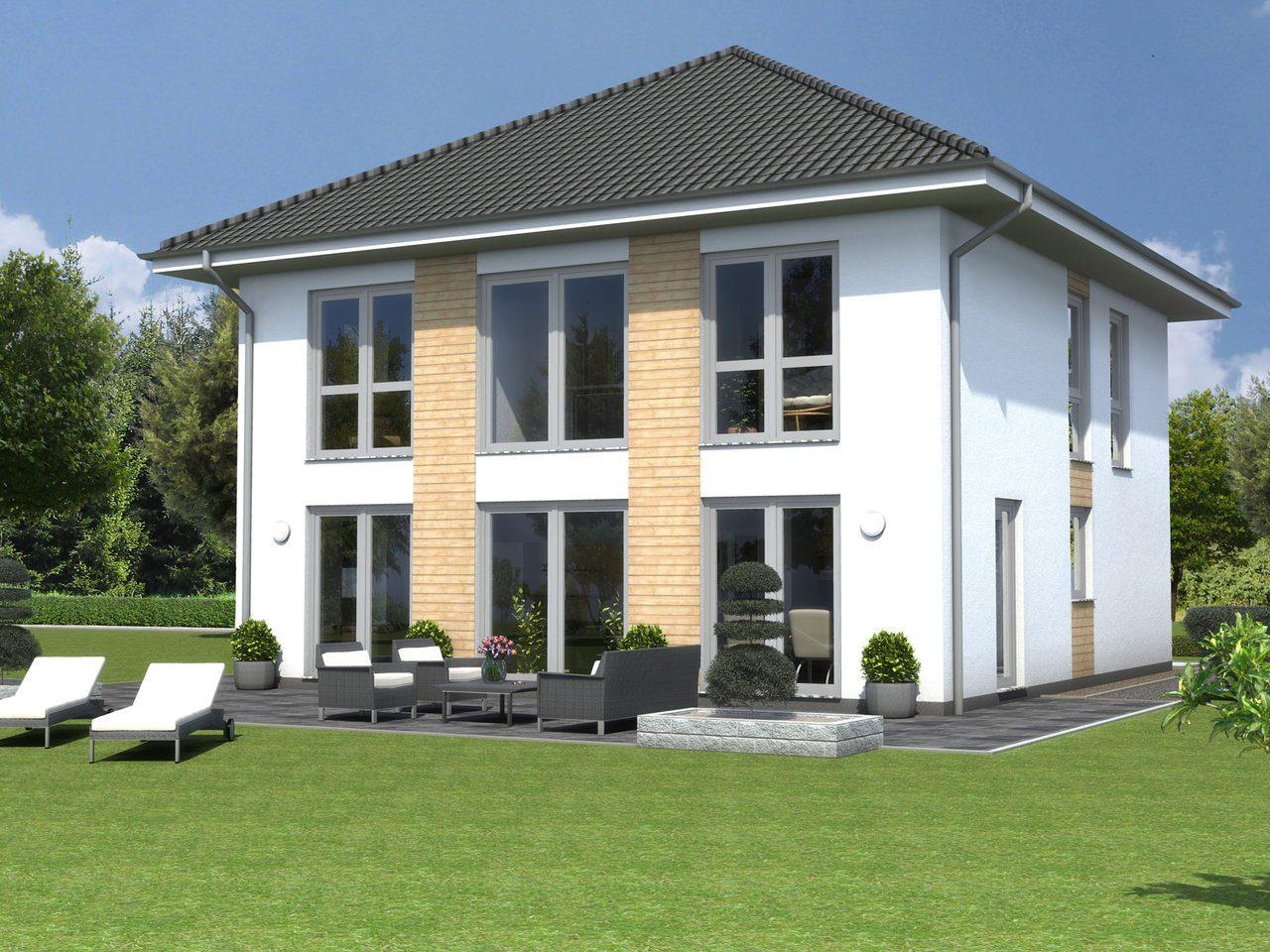 Einfamilienhaus Meran Ansicht 1 - Ästhetik Haus