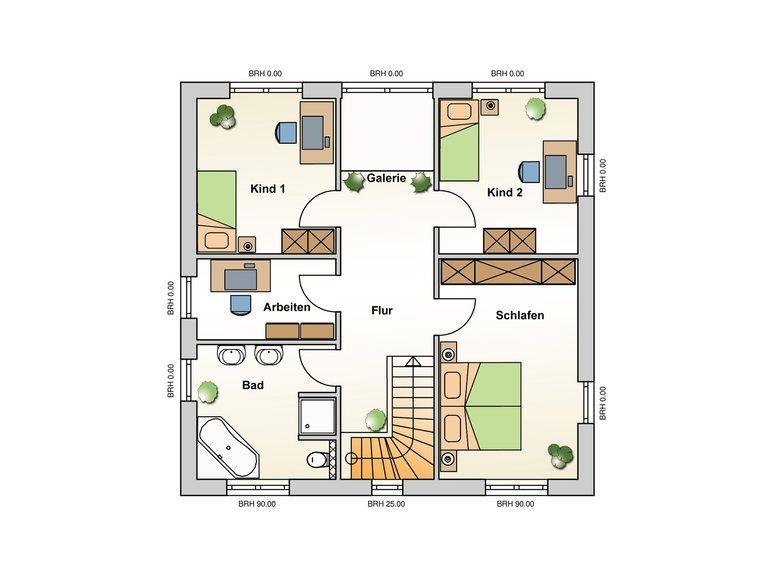 Einfamilienhaus Meran Grundriss DG