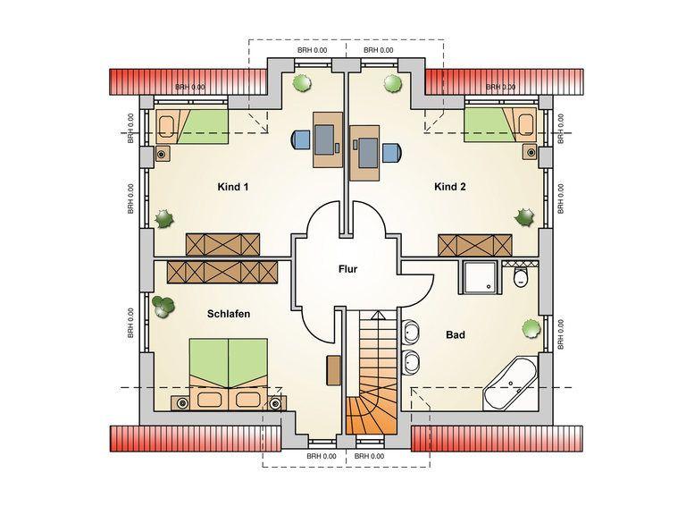 Einfamilienhaus Ravenna Grundriss DG