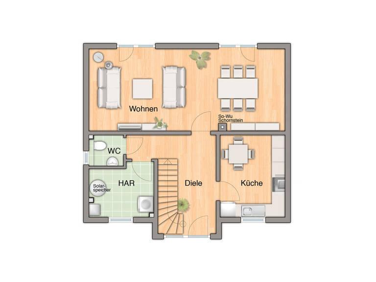 Lifestyle 120 Grundriss Erdgeschoss