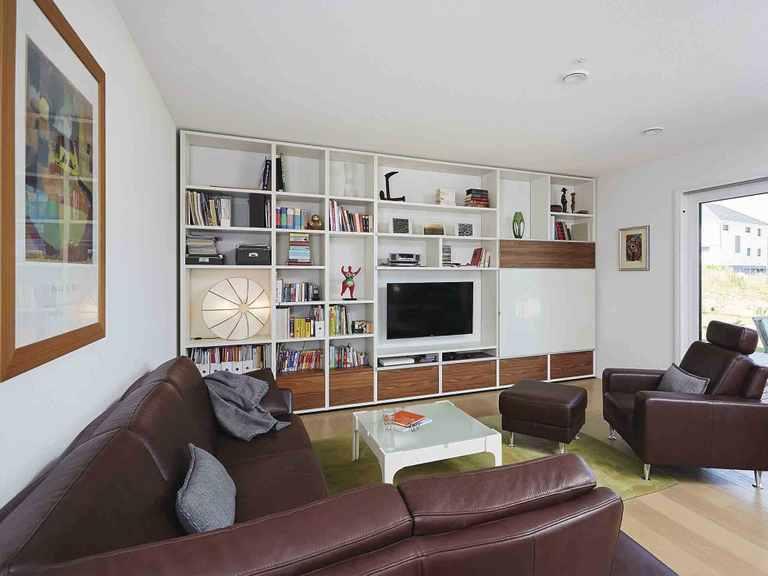 Haus Sunshine 310 WeberHaus Wohnzimmer