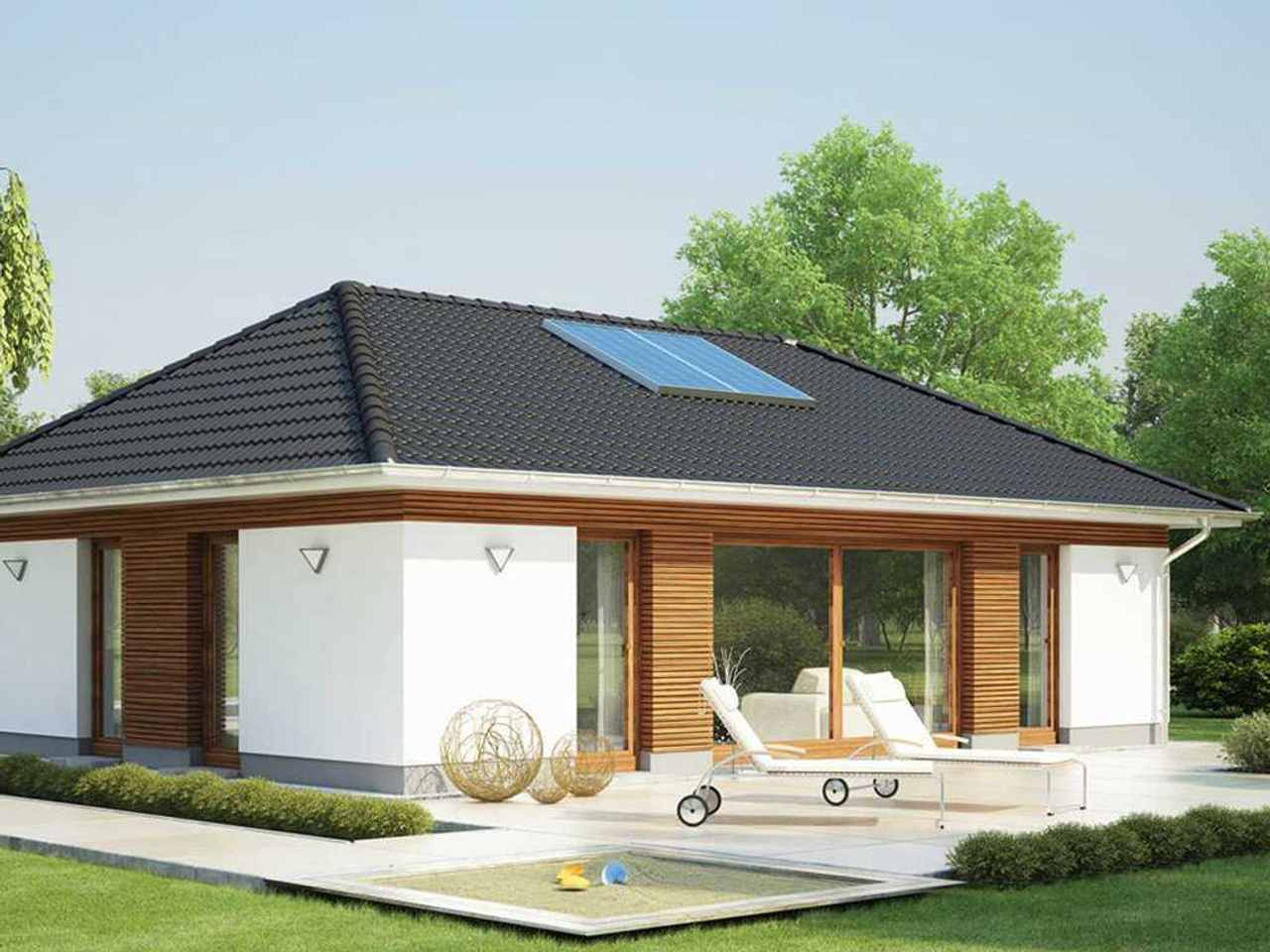 Bungalow Modicus M.10B Singlehaus