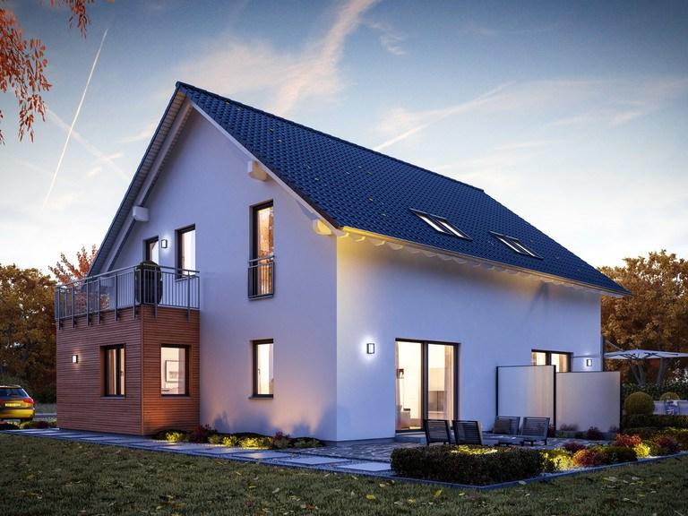 Doppelhaus FamilyStyle 21.02 S - Ansicht 1