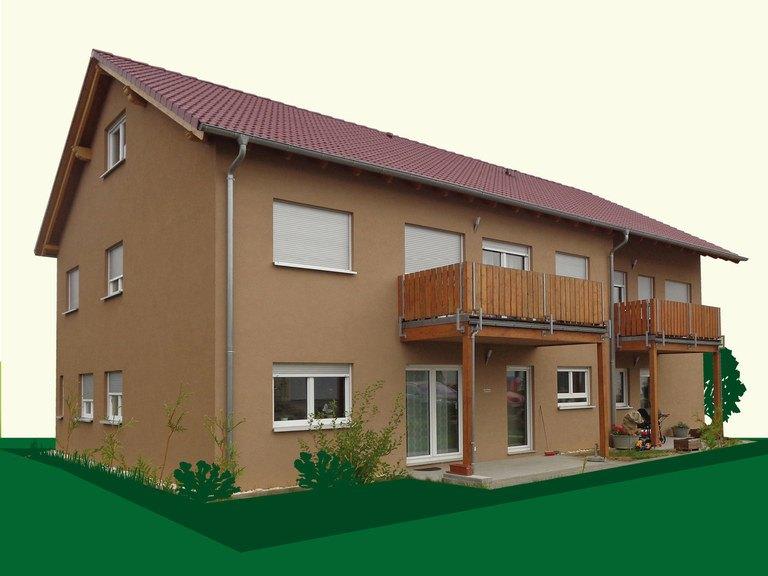 Vierfamilienhaus SD338 - Sachsenheimer Fertighaus