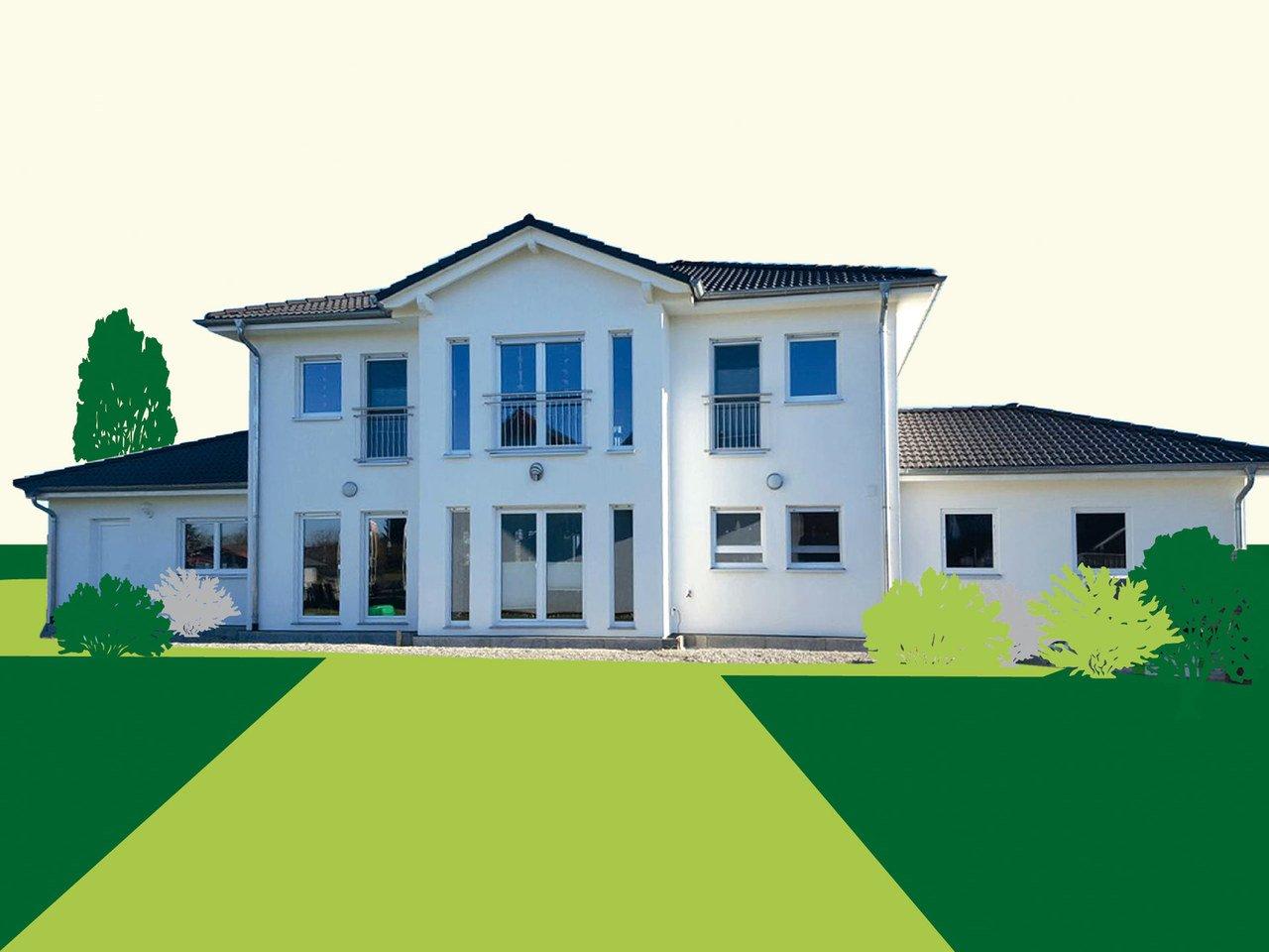 Einfamilienhaus WD 209 - Sachsenheimer Fertighaus