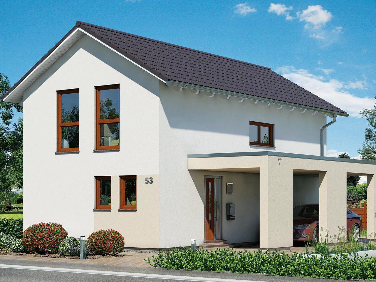 Schwabenhaus Einfamilienhaus Fame 53 Ansicht 2