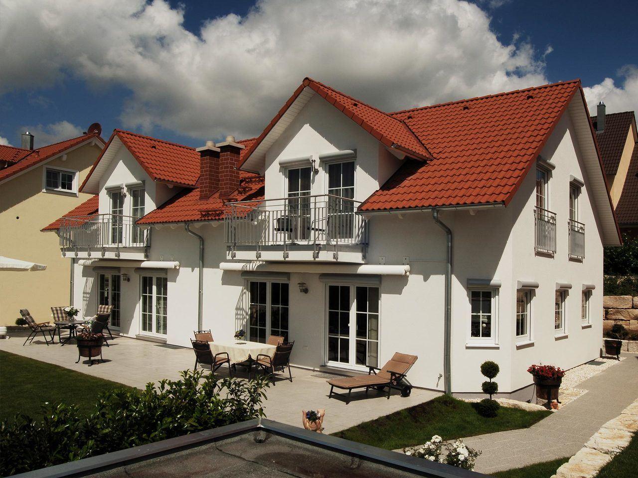 Schwabenhaus Doppelhaus Duett 1 Ansicht 3