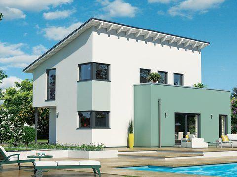 Schwabenhaus Pultdachhaus Fame 67