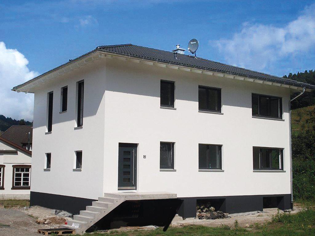 Mediterrane Stadtvilla mediterrane stadtvilla unterharmersbach opta massivhaus
