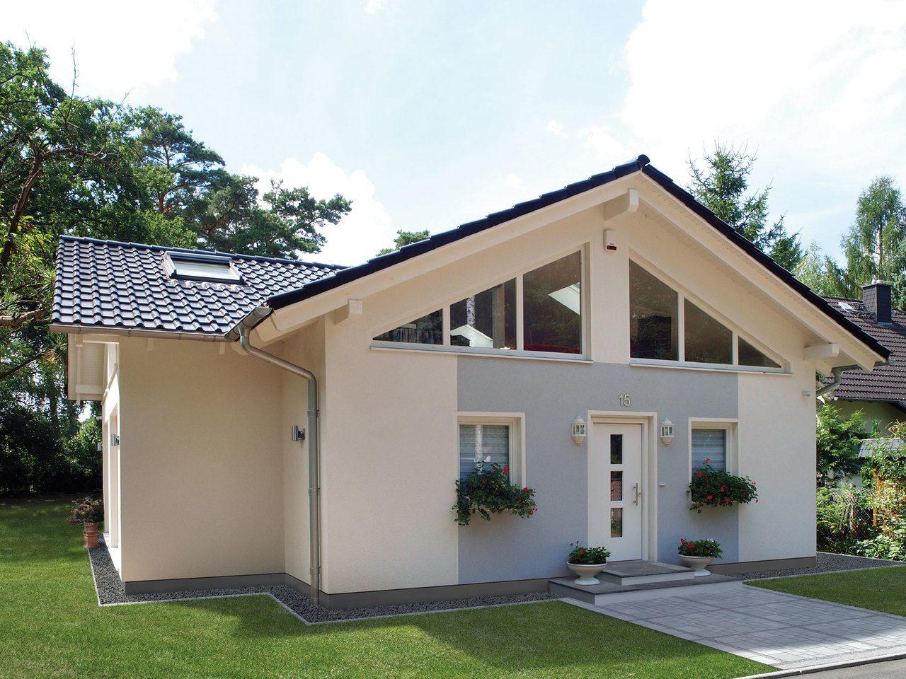 Schwabenhaus Einfamilienhaus Da Capo Sonderplanung - Hauseingang