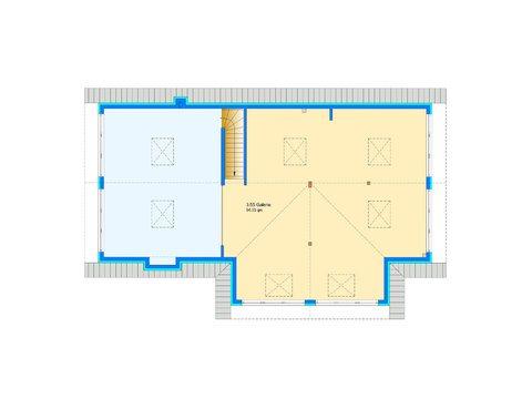 Einfamilienhaus Da Capo Sonderplanung Grundriss OG